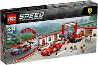 LEGO Speed Champions 75889 - Garage Ferrari NUOVO