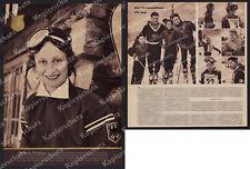 Bogner Ski Sports d'hiver équipe nationale vêtements Olympia Lanig Oberjoch 1952