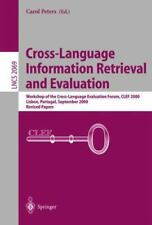 Lecture Notes in Computer Science: Cross-Language Information Retrieval and...