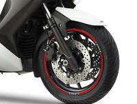 KIT STRISCE ADESIVE per CERCHI compatibili per YAMAHA X MAX scooter XMAX 400 New