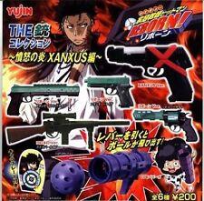 RARE Takara Tomy Gashapon The Gun Collection Hitman Reborn Complete Set of 6 pcs