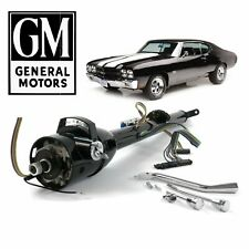 "64-77 GM A-Body Black Tilt Steering Column Keyed 33"" 455  V8 400 454 Chevelle SS"