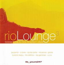 Rio Lounge 3: Bossa Nova & New Brazilian Vibes   2-CD-Set