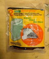 Penn Plax Clear-Free Disposable Cartridges w carbon and Zeolites New