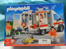 Retired Playmobil 4221 Ambulance 2005 for boys and girls 4-10 yrs old