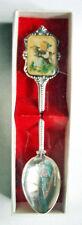 "HUMMEL Josef Muller Souvenir Spoon 5"" Ltd Ed 1984 W. Germany Silver Plate w/Box"
