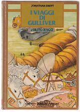 Jonathan Swift I viaggi di Gulliver la Biblioteca dei Ragazzi Peruzzo 1986  6061