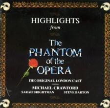PHANTOM OF THE OPERA Highlights CD ALBUM Original London Cast - Michael Crawford