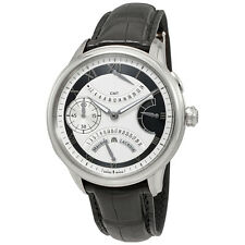 Maurice Lacroix Masterpiece Double Retrograde Silver Dial Mens Watch