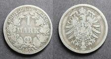 Allemagne 1 mark 1875 A Argent