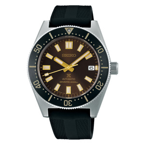 Seiko Prospex Divers Recreation Brown Dial 40.5 mm Automatic SS Watch SPB147J1