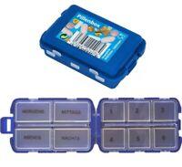 Tablettendose Medikamentenbox 6 Tage Pillendose Pillenbox Tablettenbox