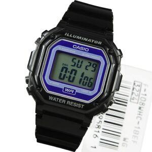 Casio Classic Retro Illuminator Watch. F-108WHC-1BEF. Brand New and Boxed.