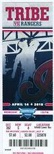 2010 Indians vs Rangers Ticket: Nelson Cruz HR/Colby Lewis Win & 10 Ks