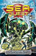 Crusher the Creeping Terror (Sea Quest) by Blade, Adam Paperback Book NEW