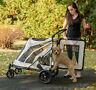 NEW Pet Gear NO-ZIP Expedition Extra Large Dog Cat Stroller Zipperless 2 Colors