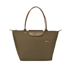 Authentic Longchamp Le Pliage 2018 Tote Bag Large Khaki Green