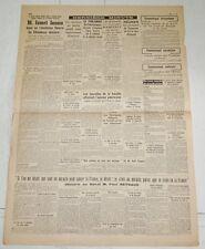 DERNIERE MINUTE 23 MAI 1940 GUERRE BATAILLE DE FRANCE WEHRMACHT PAUL REYNAUD