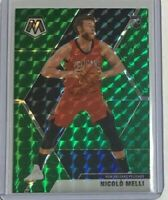 Nicolo Melli *Green* rookie 2019-20 Panini Mosaic 🏀 New Orleans Pelicans