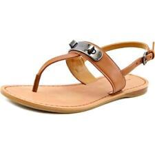 Calzado de mujer sandalias con tiras Coach de piel