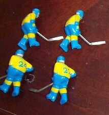 Team Canada Stiga Hockey 4 Players 1990's Blue and Yellow  table top hockey