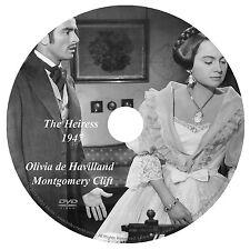 THE HEIRESS (1949) OLIVIA de HAVILLAND, MONTGOMERY CLIFT & RALPH RICHARDSON DVD