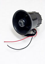 "Universal 4"" 12V Car Truck RV Electric Air Horn Siren Speaker LOUD 110db 15W"