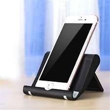 Tisch-Ständer Halter Halterung für smartphone handy verstellbar,klappbar schwarz