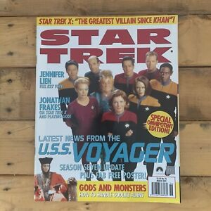 Star Trek The Official Monthly Magazine 1995 Issue Number 76 Voyager Q Kes