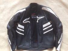 Alpinestars Moto Cuir Noir