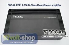 FOCAL Performance FPX 2.750 D-Class stereo/mono amplifier 2x385 Wrms @ 2ohms