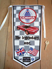 AC COBRA FORD SHELBY style PENNANT 289 427 etc.