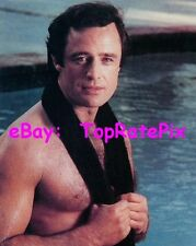 JOE PENNY  -  Barechested and Sexy at Pool  (Gay Int.)  8x10 Photo