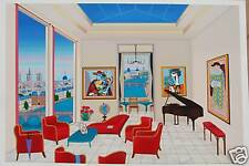 """""""Interior with 4 Picasso""""  by Fanch Ledan"""