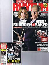 ANDY BURROWS / GINGER BAKERRhythm + CD No.158December2008