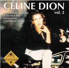 CD 14T CELINE DION COLLECTION GOLD VOLUME 2 BEST OF LES PREMIERES ANNEES 1995