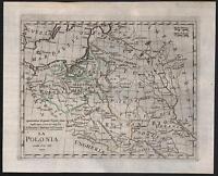 LA POLONIA-LITUANIA-UCRAINA-B.OLIVIERI-ATLANTE TASCABILE- ROMA 1823-L1107