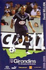 David BELLION *** Carte Postale *** Girondins de Bordeaux *** 2008/2009