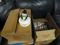 Hallmark 2014 Wireless Christmas Concert Snowmen Complete New