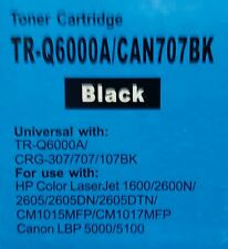 Q6000A/CAN707 Tóner Negro Compatible Para HP Color LaserJet 1600,2600N,2605, 2605D