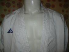 Ancienne VESTE KIMONO ADIDAS WORLD KARATE FEDERATION APPROVED T155 Judo Kendo