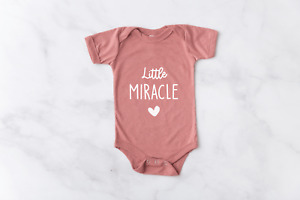 IVF Baby Bodysuit / Pregnancy Announcement / Cute Baby Gift / Little Miracle