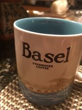 NEW Starbucks BASEL Switzerland Global Icon Series Mug 16oz - ships from USA