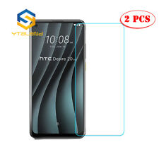 2Pcs Tempered Glass Film Cover Screen Guard Protector For HTC Desire 20 Pro