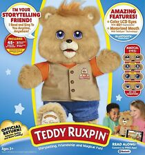 2017 TEDDY RUXPIN Bluetooth conn. LCD color Eyes Animated Storytime Magic Bear
