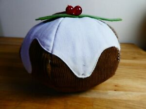 Laura Ashley Christmas Pudding Door Stop, hard to find.