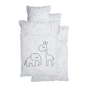 Done by Deer Happy Home Dreamy Dots Bedlinen White Junior Size