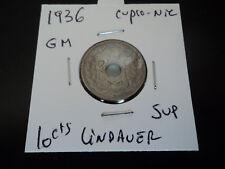 10 cts Lindauer cupro-nickel gm de 1936