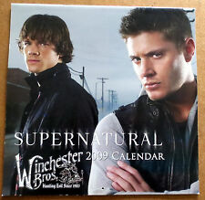 USED Supernatural Calendar 2009  - Jensen Ackles & Jared Padalecki