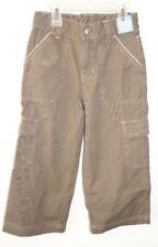 New Gymboree Snow Days Brown Cargo Pants Boy's Size 4